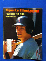 1972 Sports Illustrated September 25 Carlton Fisk (1/2 book has fold) Fair to Good