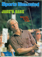 1980 Sports Illustrated June 23 Jack Nicklaus Wins 4th US Open Excellent