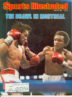 1980 Sports Illustrated June 30 Sugar Ray Leonard Excellent to Mint