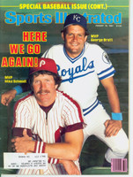 1981 Sports Illustrated August 10 Mike Schmidt - George Brett Near-Mint