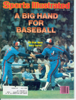1981 Sports Illustrated August 17 Gary Carter Near-Mint