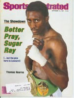 1981 Sports Illustrated September 14 Thomas Hearns Near-Mint
