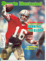 1982 Sports Illustrated January 25 Joe Montana Excellent to Mint