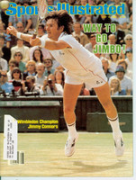 1982 Sports Illustrated July 12 Jimmy Connors Wins Wimbledon Excellent to Mint