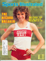 1982 Sports Illustrated July 26 Mary Decker Excellent