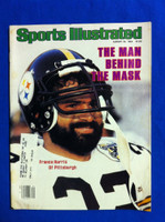 1982 Sports Illustrated August 23 Franco Harris Excellent to Mint