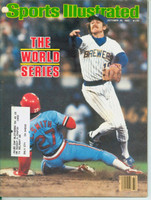 1982 Sports Illustrated October 25 World Series Issue (Robin Yount cover) Excellent to Mint