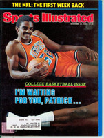 1982 Sports Illustrated November 29 Ralph Sampson Near-Mint