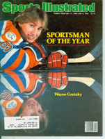 1982 Sports Illustrated December 27 Wayne Gretzky (Sportsmen of the Year) (Cover tear, contents fine) Very Good