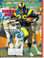 1983 Sports Illustrated October 17 Eric Dickerson Excellent