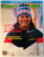 1984 Sports Illustrated February 20 US Gold Medal Winner Debbie Armstrong Excellent