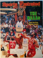 1984 Sports Illustrated March 26 Sam Perkins (NCAA Tourney issue) Excellent