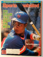 1984 Sports Illustrated April 23 Darryl Strawberry Excellent