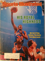 1984 Sports Illustrated May 7 Bernard King Excellent