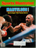 1985 Sports Illustrated April 22 Marvin Hagler TKOs Thomas Hearn Excellent to Mint