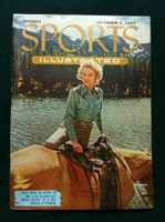 1954 Sports Illustrated October 4 Cowgirl Fashions Excellent