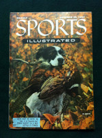 1954 Sports Illustrated October 25 Hunting Very Good One crease on cover, otherwise Near Mint, contents fine