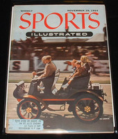 1954 Sports Illustrated November 29 Car Rally Excellent- No Mailing Label minor scuffing, overall very clean