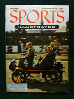 1954 Sports Illustrated November 29 Car Rally Very Good to Excellent Minor scuffing on cover, overall Excellent, contents fine