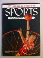 1954 Sports Illustrated December 20 Santa Clara Basketball Excellent to Excellent Plus- No Mailing Label very lt creasing on corners