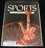 1954 Sports Illustrated December 20 Santa Clara Basketball Very Good lt bruising at top of cover
