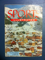 1954 Sports Illustrated December 27 Skiing in Switzerland Fair to Poor