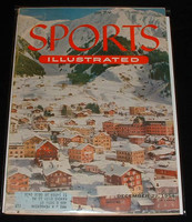 1954 Sports Illustrated December 27 Skiing in Switzerland Excellent minor scuffing, overall very clean