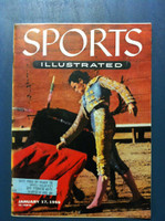 1955 Sports Illustrated January 17 Bullfighting Near-Mint [Very Clean]