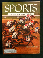 1955 Sports Illustrated February 28 Hialeah Park Very Good to Excellent