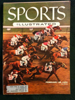 1955 Sports Illustrated February 28 Hialeah Park Very Good