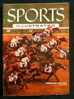 1955 Sports Illustrated February 28 Hialeah Park Excellent- No Mailing Label