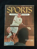 1955 Sports Illustrated March 7 Badminton Very Good bruise on top of cover