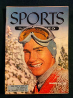 1955 Sports Illustrated March 14 Buddy Werner Excellent