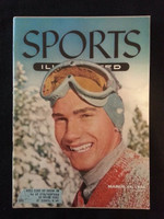 1955 Sports Illustrated March 14 Buddy Werner Excellent lt wear