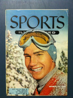 1955 Sports Illustrated March 14 Buddy Werner Very Good [Sl  cover crease, contents fine]