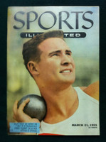 1955 Sports Illustrated March 21 Parry O' Brien Excellent
