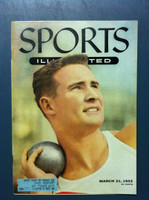 1955 Sports Illustrated March 21 Parry O' Brien Excellent to Mint
