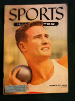 1955 Sports Illustrated March 21 Parry O' Brien (ML) Excellent