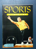 1955 Sports Illustrated March 28 Steve Nagy - Bowling Excellent to Mint