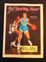 1970 Sporting News March 7 John Valley Excellent to Mint lt. center fold from mailbox, otherwise sharp