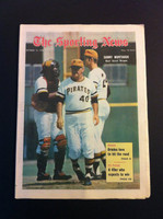 1970 Sporting News October 10 Danny Murtaugh Excellent to Mint lt. center fold from mailbox, otherwise sharp