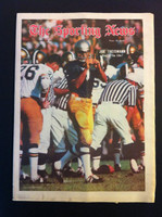 1970 Sporting News November 28 Joe Theismann Excellent lt. center fold from mailbox, sm tears on bottom