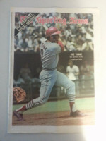 1971 Sporting News October 23 Joe Torre Excellent to Mint lt. center fold from mailbox