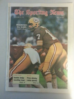 1971 Sporting News November 13 Billy Kilmer Very Good lt. center fold from mailbox, sm. Tear on binding