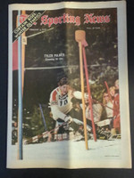 1972 Sporting News February 5 Tyler Palmer (Heavy fold from Original Mailer - o/w Sharp!) Very Good to Excellent