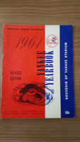 1961 Yankees Yearbook Revised (World Series Winners) Very Good to Excellent