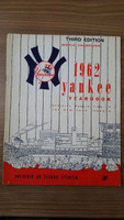 1962 Yankees Yearbook Third Edition (World Series Winners) Very Good