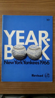 1966 Yankees Yearbook Revised Excellent