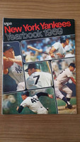 1969 Yankees Yearbook - Last Mickey Mantle Cover Excellent