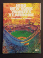 1980 Yankees Yearbook Good to Very Good